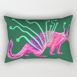 Electric Numbat Rectangular Pillow