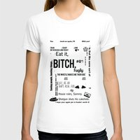 dean winchester T-shirts featuring Supernatural - Dean Winchester Quotes by natabraska