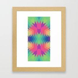 Indigena Fractal Framed Art Print