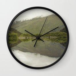 Reflections from Diamond Lake Wall Clock