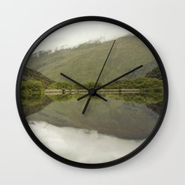 Reflections from Diamond Lake Wall Clock