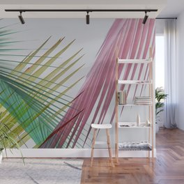 Tropical Palm Tree Leaves Wall Mural