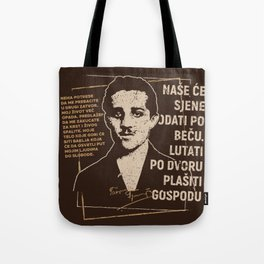 Gavrilo Princip Tote Bag