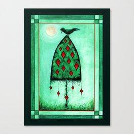 Crow Dreams Canvas Print