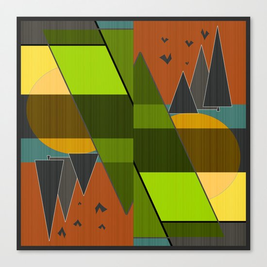 Abstraction.  Canvas Print