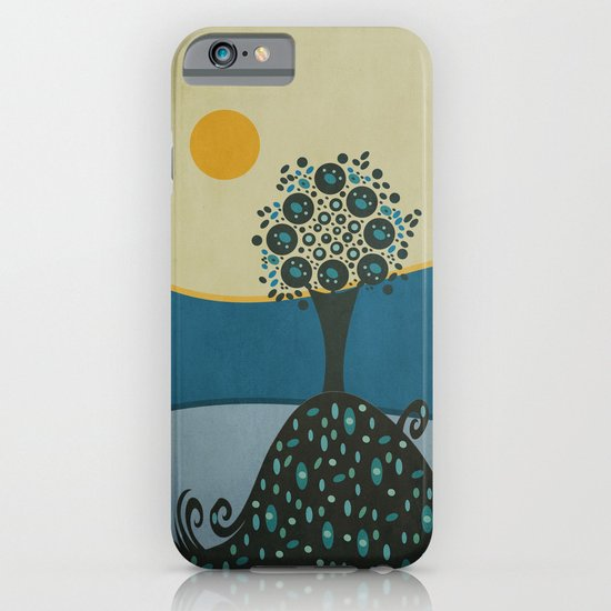 Lone tree in the hills iPhone & iPod Case