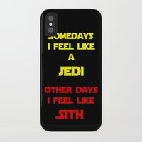 sith iPhone & iPod Cases featuring Feel Like Sith by Rachcox