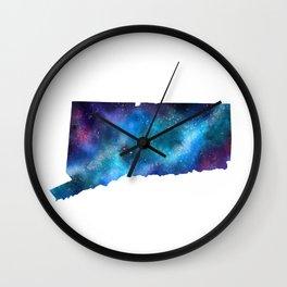 Connecticut Galaxy of Stars Wall Clock