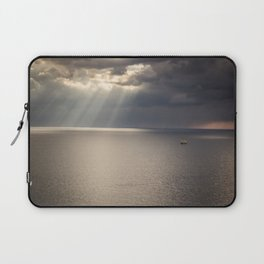Ship on the Sea Laptop Sleeve