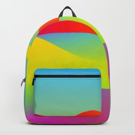 Abstract Desert Backpack