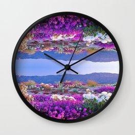 Miracle Garden Wall Clock