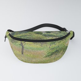 """Camille Pissarro """"Apple trees in Éragny"""" (""""Pommiers à Éragny"""") Fanny Pack"""