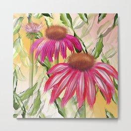 Paradise flowers Metal Print