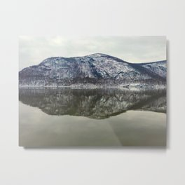 the mountain view from cold spring, new york Metal Print