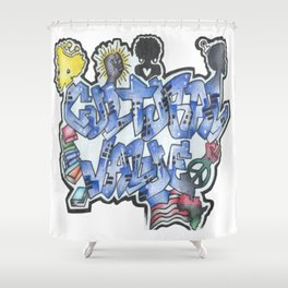 Cultural Value Shower Curtain