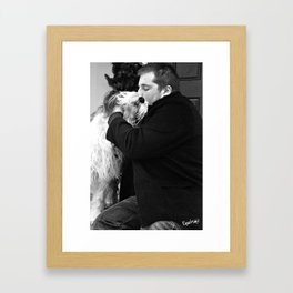 bandit 03 Framed Art Print