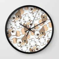gizmo Wall Clocks featuring gizmo by guizmo04