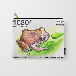Kisenyi forest tree frog Carry-All Pouch