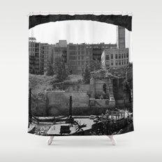 Mill Ruin Park Shower Curtain