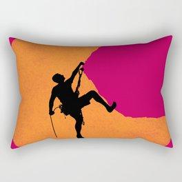 Climbing Rectangular Pillow