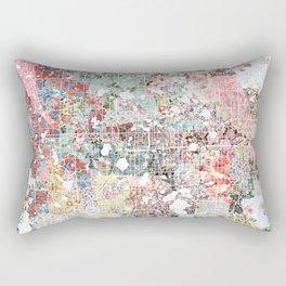 Orlando map landscape Rectangular Pillow