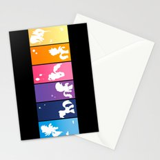 Rainbow Ponies Stationery Cards