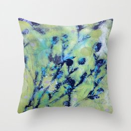 Diazo Series — Brush Throw Pillow