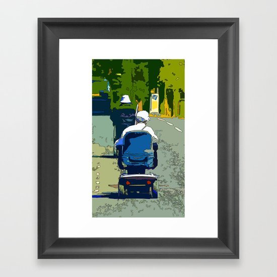 Hell's Octogenarians  Framed Art Print