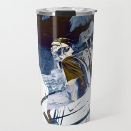Alpinism in Chamonix Travel Mug
