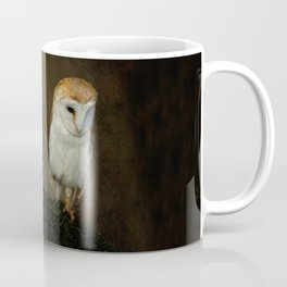Barn And Tawny Owl Coffee Mug