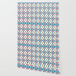symetric patterns 62 -mandala,geometric,rosace,harmony,star,symmetry Wallpaper