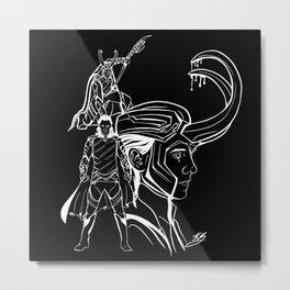 God of Mischief Metal Print