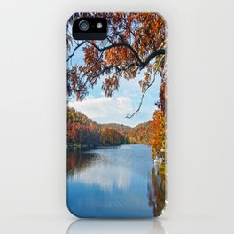 Autumn at Lake Killarney iPhone Case