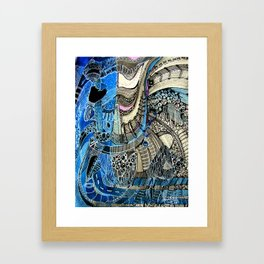 Twisty City | Limited Edition of 50 Prints Framed Art Print