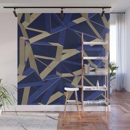 3D Futuristic GEO IX Wall Mural