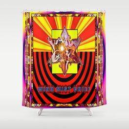 Warm Star's Ressurection Shower Curtain