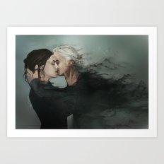 Dramione: Deatheater Kiss Art Print