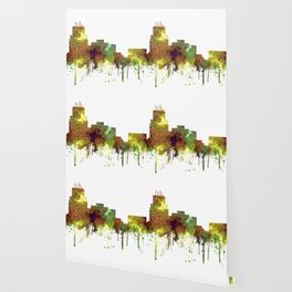 Durham, NC Skyline SG - Safari Buff Wallpaper