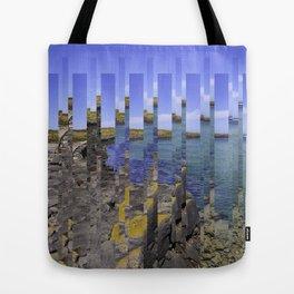 Island Jigsaw Tote Bag
