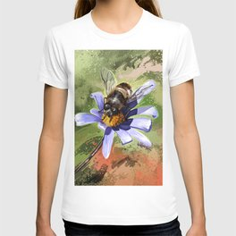 Bee on flower 18 T-shirt