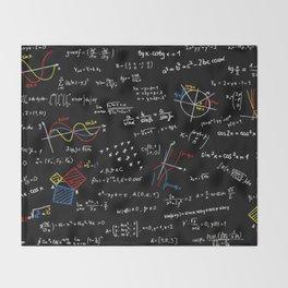 Math Equation Throw Blanket