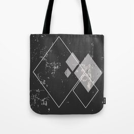 Argyle Deconstruction | Minimalist | Abstract | Modern | Shapes | Geometrix Tote Bag