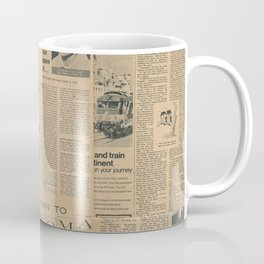 Vintage Fifties Magazine Coffee Mug