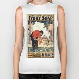 Vintage poster - Soap Biker Tank