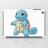 squirtle iPad Cases featuring PIXELATED SQUIRTLE by DrakenStuff+
