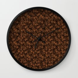 Coffee Beans (Max Caf) - Light Wall Clock