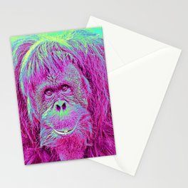 Animal ArtStudio Orang Stationery Cards
