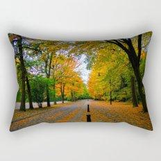Fall road Rectangular Pillow