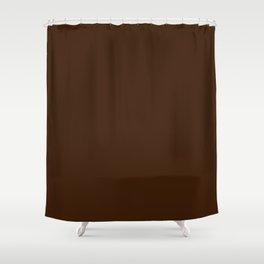 Engine of the Band ~ Dark Chocolate Shower Curtain