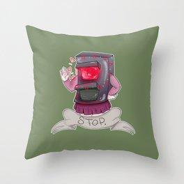Stoplight Effect Throw Pillow